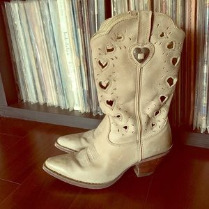 Sweetheart of the Rodeo Western Boots 6.5 Durango